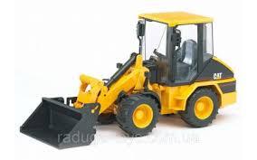 <b>Игрушка Bruder</b> Погрузчик колёсный <b>CAT</b> с ковшом М1:16 (02441 ...