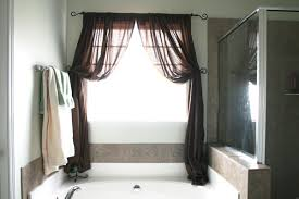 basic bathroom window treatments midcityeast