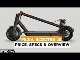 <b>Xiaomi Mijia</b> Scooter <b>1S</b> Price, Specifications and Review | STUDlike