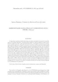(PDF) Simbionti radicali di Astragalus nebrodensis (guss.) Strobl ...