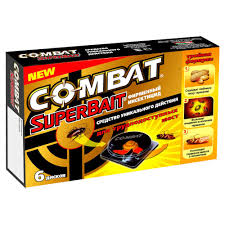 <b>Ловушки</b> Комбат <b>Combat</b> Super Bait от <b>тараканов</b> 6 штук - купить ...