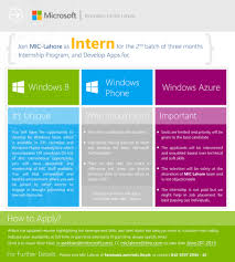 join microsoft innovation center lahore as intern in summer join microsoft innovation center lahore as intern in summer internship program microsoft dx community blog