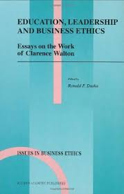 buy education  leadership and business ethics   essays on the work    buy education  leadership and business ethics   essays on the work of clarence walton  issues in business ethics  in cheap price on m alibaba com