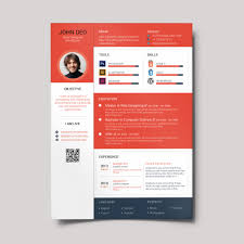 material design resume creativecrunk full preview template