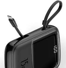 <b>Внешний аккумулятор Baseus</b> Q Pow 10000 мАч, Black [PPQD-B01]