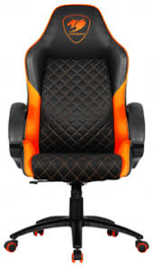 <b>Кресло компьютерное Cougar</b> Fusion, <b>Игровое</b> - black/orange ...