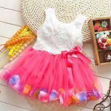 Casual Flower <b>Baby</b> Girl <b>Dress Clothes Summer Dresses</b> ...