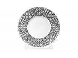 <b>Тарелка Черный Ажур</b>, <b>21</b> см 830123 2300 Tunisie Porcelaine ...