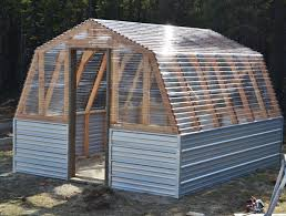 Ana White   Barn Greenhouse   DIY ProjectsFree step by step plans to build a barn style greenhouse