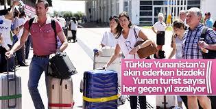Türkiye'de Yunan turist sayısı azalıyor