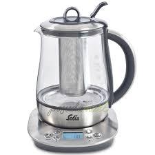 Электрический <b>чайник</b> с терморегулятором 1 л стекло/пластик ...
