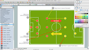 soccer  football  diagram software