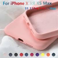 New Silicone Case For All iPhone <b>Soft Liquid Silicone</b> Slim Rubber ...