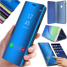 Зеркало смарт-<b>флип</b> охватить телефона <b>чехол</b> для iPhone 6S 6 ...