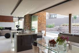 big modern house open floor astounding home interior modern kitchen