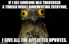 Weird Stuff I Do Potoo Memes - Imgflip via Relatably.com