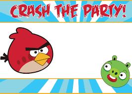 angry bird invitations templates ideas printable angry bird printable angry bird birthday invitation card fairy birthday party invitations ideas