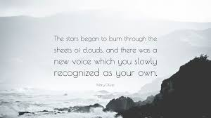 mary oliver quote the stars began to burn through the sheets of mary oliver quote the stars began to burn through the sheets of clouds