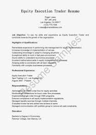 equity sales trader resume sample cover letter sales equity trader cover letter