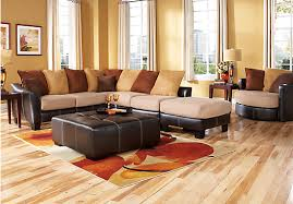 picture of suttons bay beige 4 pc sectional living room from sectionals furniture beige sectional living room