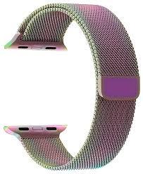 <b>Lyambda Ремешок</b> из нержавеющей стали Capella для Apple ...