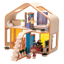Littlewhirl » Blog Archive » Plan Toys DollhouseContemporary Dollhouse from Plan Toys