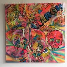 <b>Loose Tapestries</b> Painting by Barrie J Davies | Saatchi Art