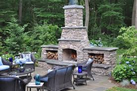 outdoor fireplace paver patio:  images about outdoor fireplaces on pinterest fireplaces wood storage and outdoor fireplace kits