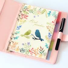 Planner Time <b>A5</b>/<b>A6 6 Holes</b> Colored Notebook's Index Page 5pcs ...
