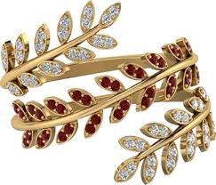 <b>Rings</b> for <b>Women</b>   Fashion Trend Leaf <b>Inlaid</b> Zircon Adjustable ...