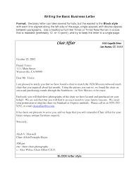 basic business letter letter format 2017 how