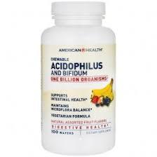 Probiotic, <b>Chewable Acidophilus and Bifidum</b> - Digestive