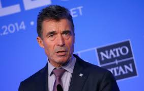 nato could have trouble combating putin s military strategy nato secretary general anders fogh rasmussen speaks during a news conference on the second and