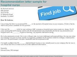 hospital nurse recommendation letter  pdf 2 recommendation letter sample for hospital nurse