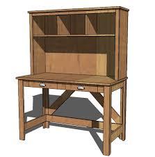 built kitchen hutch plans