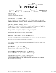 server job description resume sample food service job description resume food server job description