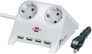 1153520122 <b>Brennenstuhl</b> удлинитель <b>Desktop</b>-<b>Power</b>-Plus 1,8 м ...