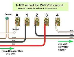 pool timer wiring help please doityourself com community forums just note this show for water heater useage and it will be the same for your pool pump setup so the white conductor which goes to the water heater is