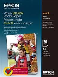 Новинка <b>Epson</b> - <b>фотобумага Value Glossy</b> Photo <b>Paper</b>