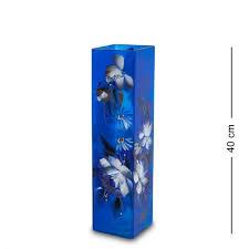 <b>ваза для цветов art</b> east жостово 40 см амфора черный   novaya ...