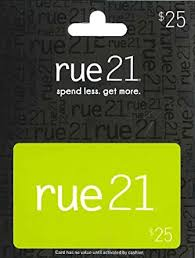 Rue 21 Gift Card $25: Gift Cards - Amazon.com