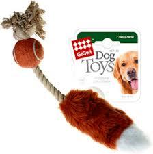 <b>Игрушка GiGwi Dog Toys</b> | ГиГви Лисий Хвост для собак купить в ...