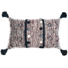 <b>Подушка декоративная</b> Ethnic, с помпонами и кисточками | www ...