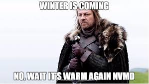"""Greenpeace Spoofs Season 6 in """"Winter Is Not Coming"""" via Relatably.com"""