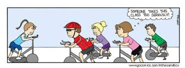 Spin Class Meme | Forever Within the Numbered Pages via Relatably.com