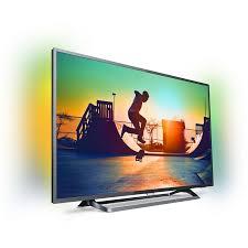 <b>Телевизор Philips 55PUS6262</b>/<b>60</b>, 4K Ultra HD, <b>черный</b> — купить в ...
