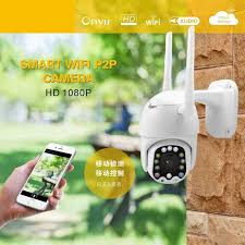 1080P <b>PTZ</b> IP Camera Outdoor Camera Waterproof 355° Rotation ...