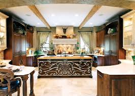 large kitchen island cool country