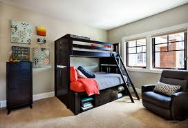 apartment on bedroom furniture adorable small space designer boy bedroom ideas with charming bunk bed on combined black wood bed frame and nice bookcase boy bed furniture
