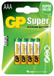 Купить <b>элемент питания GP Super</b> Alkaline GP 24A 2CR4 AAA в ...